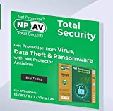 NPAV Net Protector 2020 Total Security Gold Edition - 1 PC, 1 Year (Email Delivery - No CD)