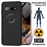 TAGCMC for Samsung Galaxy S10 Silicone Case,Anti Radiation Cell Phone Case,99% EMR/EMF Protection and Negative Ion...