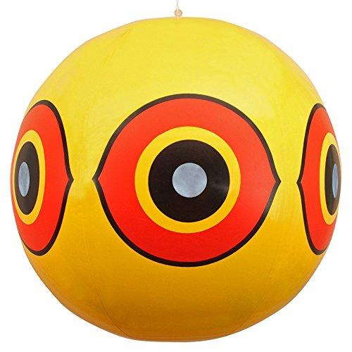 Sistema repellente antiuccelli - palloni gonfiabili con occhio minaccioso - giallo -...