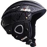 ZIONOR Lagopus H1 Ski Snowboard Helmet for Men Women - Air Flow Control Adjustable Fit Crack (Medium)