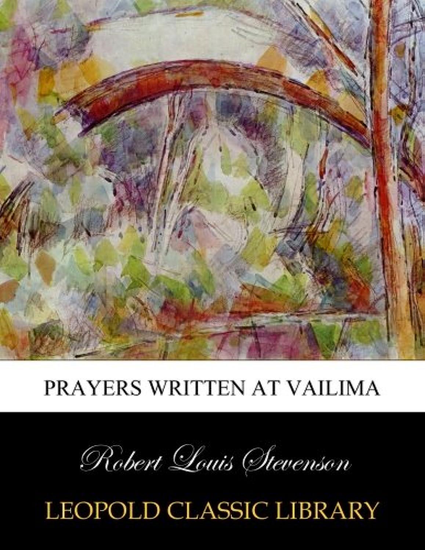 Prayers Written at Vailima