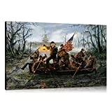 Artwu Donald Trump,Crossing,The Swamp Wall Art Home Wall Decorations for Bedroom Living Room Oil Paintings IFUNEW Canvas Prints 3 sizes-716 (24x36inch(Unframed))
