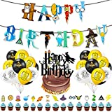 Wizard Inspired Cupcake Toppers BETOY 37PCS Cupcake Toppers cumpleaños Decoracion de Fies...