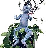 BKONF Muñecas Reborn 55 cm Reborn Baby Muñecos Reborn de Silicona Hecho a Mano Baby Reborn Bebe Las Extremidades Pueden Moverse con Flexibilidad