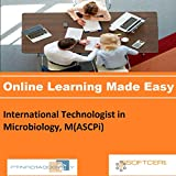 PTNR01A998WXY International Technologist in Microbiology, M(ASCPi) Online Certification Video Learning Made Easy