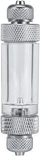 Aquarium Water Plant CO2 Bubble Counter Single/Double Head Non-return Bubble Counter Fish Tank Tool (Double Head)