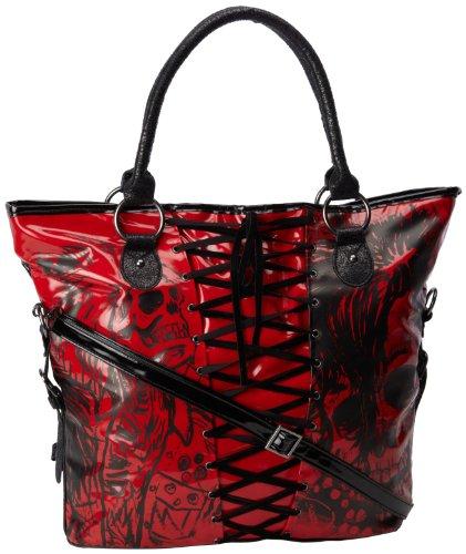 Iron Fist Bags American Nightmare Handtasche, Violett (rot), Einheitsgröße