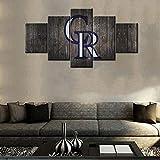 Kunstdruck, Motiv: Baseball-Team-Team-Poster, Motiv: