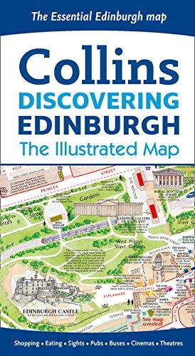 Discovering Edinburgh Illustrated Map [Idioma Inglés]