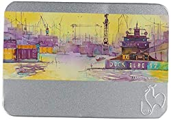 Small, portable postcards are a favourite of urban sketchers and artists for making a quick sketch on the go.