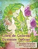 Libro de Colorear Ilusiones Ópticas: 30 Increíbles Ilustraciones para Retar a tu Cerebro: 1 (Libros de Colorear Ilusiones Ópticas para Adultos)