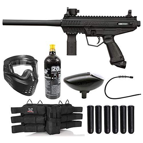Maddog Tippmann Stormer Basic Titanium Paintball Gun Marker Starter Package - Black