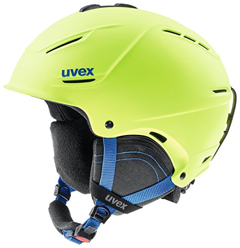 Uvex Unisex Erwachsene P1us 2.0 Skihelm, lime mat, 52-55 cm