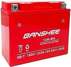 YT12B-BS Sealed SMF SLA AGM Battery for Yamaha 650 XVS650 V-Star All 1998-2011
