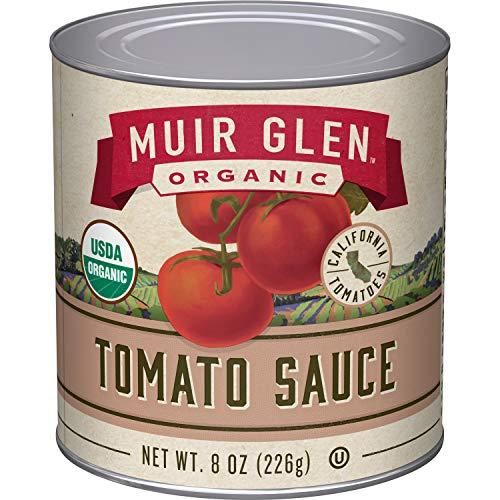 Muir Glen, Organic Tomato Sauce, 24 Cans, 8 oz
