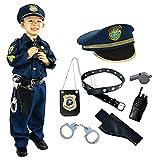 Joyin Toy Spooktacular Creations Disfraz de Oficial de policía niños