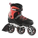 Bladerunner by Rollerblade Formula 100 Men's Adult Fitness Inline Skate, Black/RED, 11