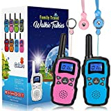 Wishouse 2 Walkie Talkies for Kids, Family Walky Talky Two Way Radio for Adults Cruise Ship Long...
