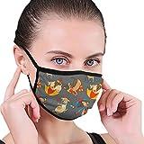 Máscara Facial para Exteriores con Diferentes Perros, Antipolvo, Media Cara, para niños, Adolescentes, Hombres, Mujeres, Amantes del Polvo, bucles Ajustables para los oídos