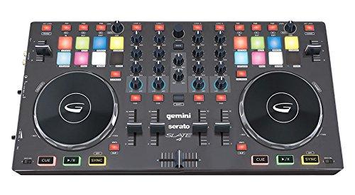 Gemini DJ SLATE 4 USB/MIDI 4-Channel DJ Controller