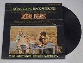 Born Free Virginia McKenna Signed Autographed Original Motion Picture Soundtrack Record Album with Vinyl Loa