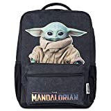 Disney® Official Baby Yoda Backpack Mandalorian Grogu The Child | Large Star Wars Backpack - Suitable for Older Kids, Teenagers & Adults 48cm x 35cm x 13cm