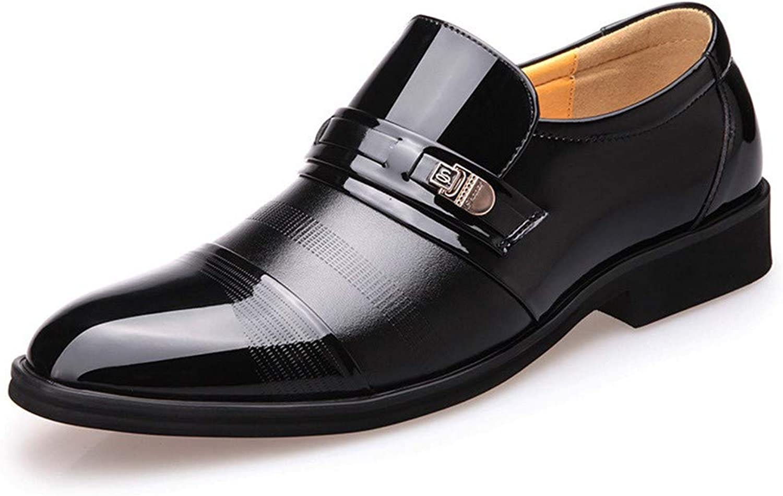 AADDIN Leather shoes Men Dress shoes Spring Comfortable Social Office shoes Men