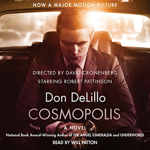Cosmopolis audiobook cover art