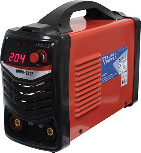 Super Power 73210 Equipo Soldadura Inverter, 200A, 28V, 6.7Kva