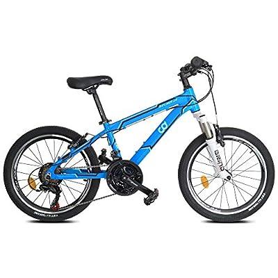 "CyclingDeal Bicycle Kids Mountain Bike Shimano 18 Speed 20"" Wheels 12"" Frame"