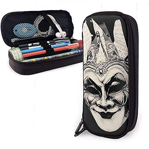 Borsello in pelle Bo-RIS-Brejcha- Organizzatore di articoli da toeletta portatile con Zippe per studenti Artisti/Casa/Ufficio