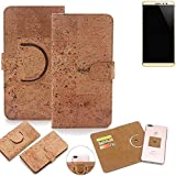K-S-Trade 360° Cover cork Case for coolpad Max |