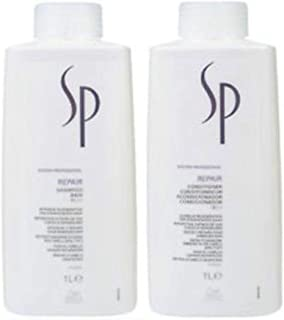 SP Repair Duo Pack, Repair Shampoo 1L and Repair Conditioner 1L