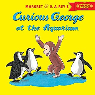 Curious George at the Aquarium with downloadable audio