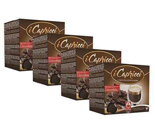 Bonini iCapricci Nespresso Kakao Kapseln - 40 Cioccolato Schokolade Kapseln, Nespresso kompatibel von Bonini
