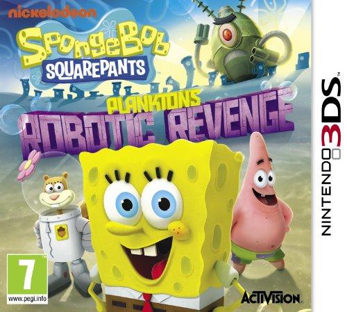 SpongeBob SquarePants Plankton's Robotic Revenge Nintendo 3DS