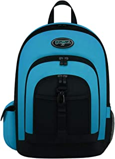 East West U.S.A Classic Bookbag, School Book Bag, Casual Daily Daypack & Outdoor Sports Bag Turquoise