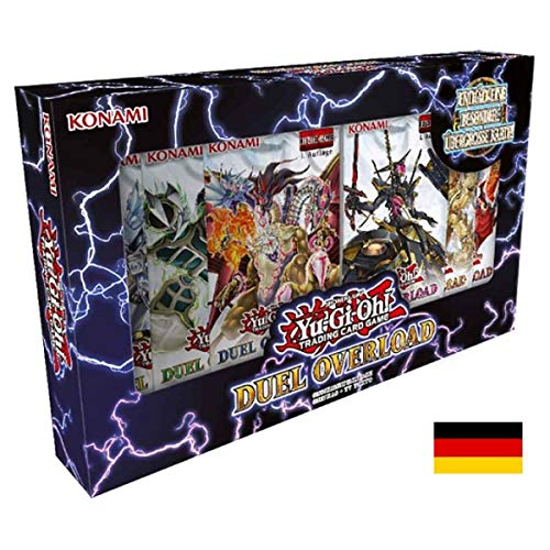 Lively Moments Yu-Gi-Oh! Karten Duel Overload Box 1. Auflage DE Deutsch