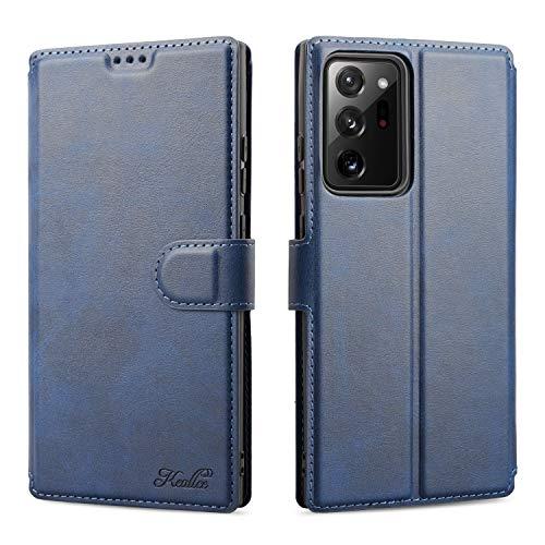 Keallce Samsung Galaxy Note 20 Ultra (5G) Hülle, Handy Lederhülle PU Leder Hülle Brieftasche Handytasche Cover Kompatibel für Samsung Galaxy Note 20 Ultra (5G) Ledertasche-6.9