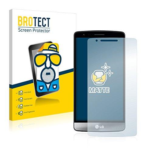 BROTECT 2X Entspiegelungs-Schutzfolie kompatibel mit LG G3 S D722 Bildschirmschutz-Folie Matt, Anti-Reflex, Anti-Fingerprint