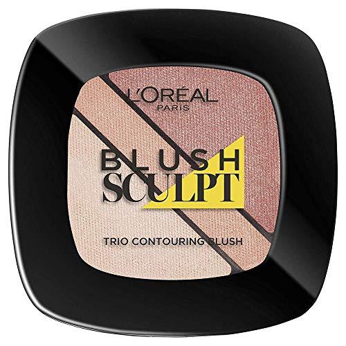 L'Oréal Paris Make-Up Designer Infaillible Sculpt 102 Nude Beige cipria Polvere