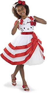 Sanrio Hello Kitty Child Deluxe Costume (Includes Dress, Headband and Glovettes)