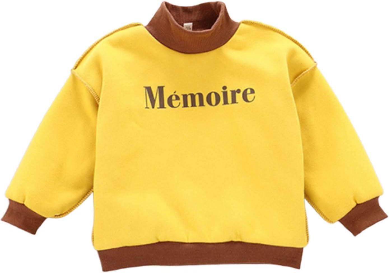 Cuteelf Kinder Langarm Plus samt dicken Pullover Oben niedlichen Ball Ball Fleece Kind Jungen M/ädchen dicken Pullover Sweatshirt Oben warme Kleidung