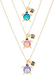 turtle friendship necklace
