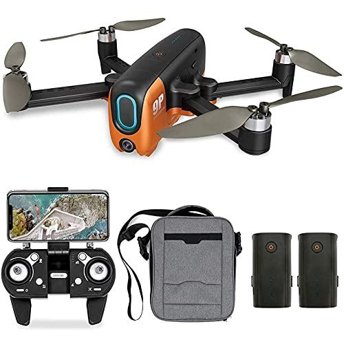 DCLINA Drone GPS con Fotocamera 4K UHD per Principianti Quadcopter Pieghevole 5G WiFi FPV Video in Diretta con Motore brushless Ritorno Automatico a casa Seguimi 40 Minuti Volo