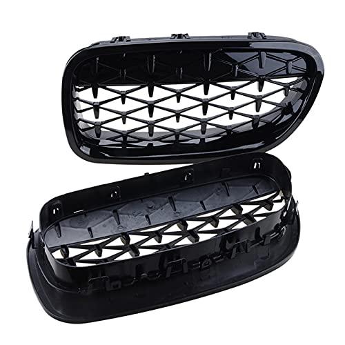 CPT Parrilla de Carreras Capucha Frontal Grille Diamond Black Grill Fit para Fit For BMW F10 F11 F18 5- Serie 2010-2016 Accesorios para automóviles Pieza de reemplazo Piezas Exteriores automotrices