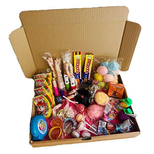 Box à bonbons d'antan - Box à bonbons rétro - 53 pièces