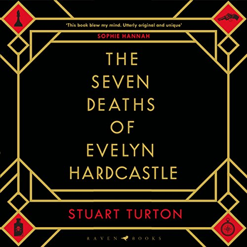 The Seven Deaths of Evelyn Hardcastle audiobook cover art