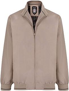 Kam Mens Light Weight Bomber Jacket Harrington Big & Tall King Plus Sizes