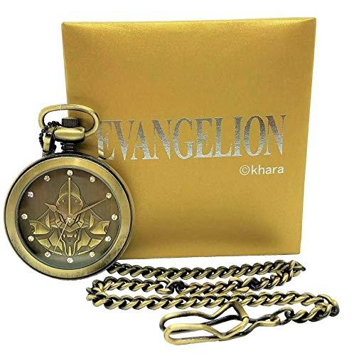 EVANGELION(エヴァンゲリオン)初号機の懐中時計限定生産 500個のみ 検 エヴァ eva 初号機 懐中時計 限定
